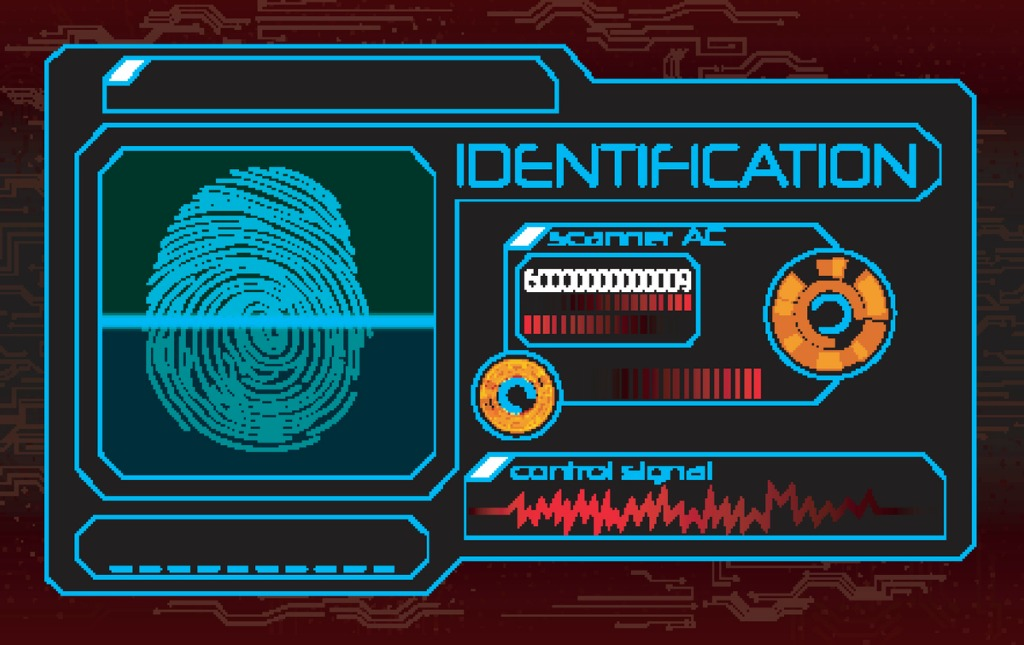 fingerprint-scanner-vector-id596387236